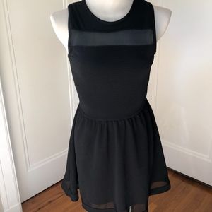 NWT French Atmosphere Little Black Dress M
